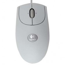 Logitech RX250 Optical Mouse White USB+PS/2 (910-000185)