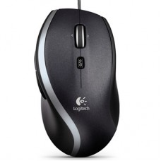 Logitech Corded Mouse M500 Black (910-003725)